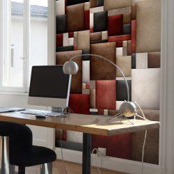 Fotótapéta - Leather puzzle  50 x1000 cm