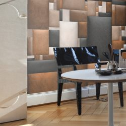 Fotótapéta - Leather blocks  50 x1000 cm