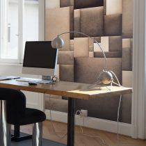 Fotótapéta - Leather mosaic  50 x1000 cm