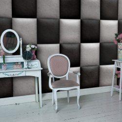 Fotótapéta - Leather chessboard  50 x1000 cm
