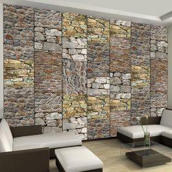 Fotótapéta - Puzzle with stones  50 x1000 cm