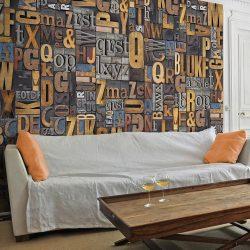 Fotótapéta - Verbal puzzle  50 x1000 cm