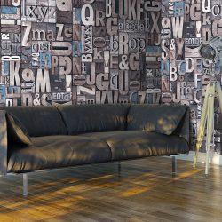 Fotótapéta - Scrabble  50 x1000 cm