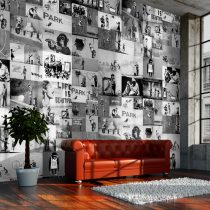 Fotótapéta - Banksy - grey collage  -  ajandekpont.hu