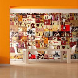 Fotótapéta - Collage - Banksy  50 x1000 cm