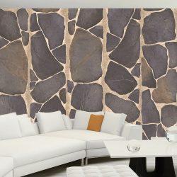 Fotótapéta - Rock mosaic  50 x1000 cm