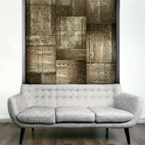 Fotótapéta - Brass mosaic  50 x1000 cm