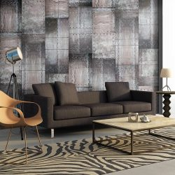 Fotótapéta - Brass wall  50 x1000 cm