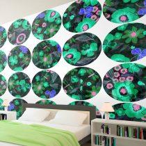 Fotótapéta - Green meadow - circle  50 x1000 cm