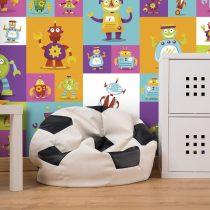 Fotótapéta - Colorful Robots  50 x1000 cm