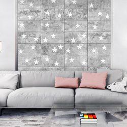 Fotótapéta - Stars On Concrete  50 x1000 cm
