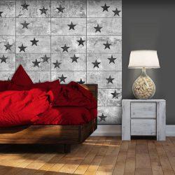 Fotótapéta - Black Stars  50 x1000 cm