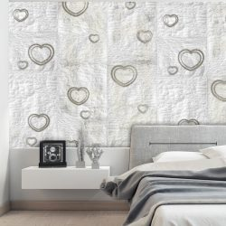 Fotótapéta - Paper Heart  50 x1000 cm