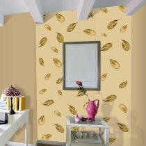 Fotótapéta - Golden Leaf  50 x1000 cm