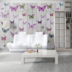 Fotótapéta - Butterflies and Concrete  50 x1000 cm