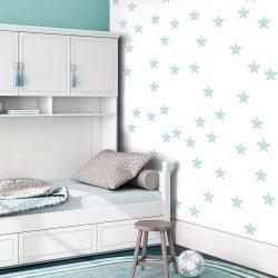 Fotótapéta - Stars - Aquamarine  50 x1000 cm