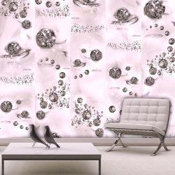 Fotótapéta - Pink Jewels  50 x1000 cm