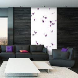 Fotótapéta - Purple Birds  50 x1000 cm