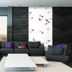Fotótapéta - Purple Birds  50 x1000 cm