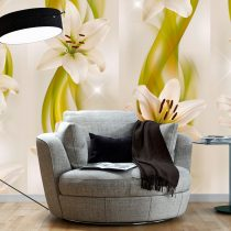 Fotótapéta - Lilies avant-garde  50 x1000 cm
