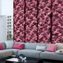 Fotótapéta - Pink Fur  50 x1000 cm