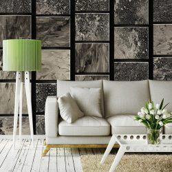 Fotótapéta - Painted Squares  50 x1000 cm