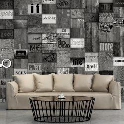 Fotótapéta - Mosaic of Words  50 x1000 cm