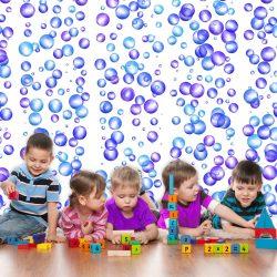Fotótapéta - Colourful Bubbles  50 x1000 cm