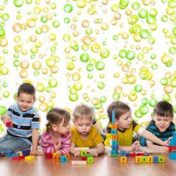 Fotótapéta -  Fun Bubbles  50 x1000 cm