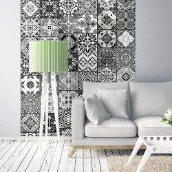 Fotótapéta - Arabesque - Black& White  50 x1000 cm