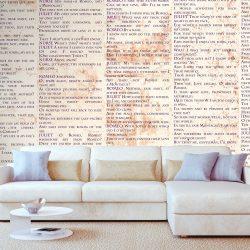 Fotótapéta -  Love Language  50 x1000 cm