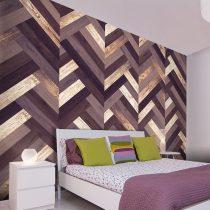 Fotótapéta - Wooden Braid  50 x1000 cm