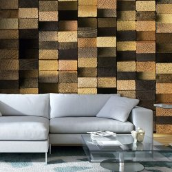 Fotótapéta - Protected by the Wooden Weave  50 x1000 cm