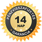 14 napos pénzvisszafizetési garancia - ajandekpont.hu