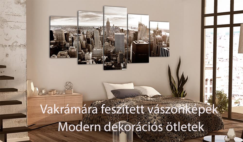 Modern vakrámára feszített vászonképek - ajandekpont.hu