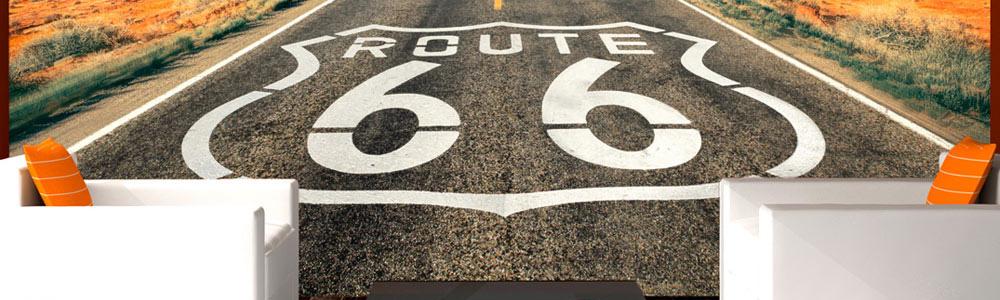 66-os út fotótapéta